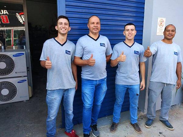 equipe bom frio ar