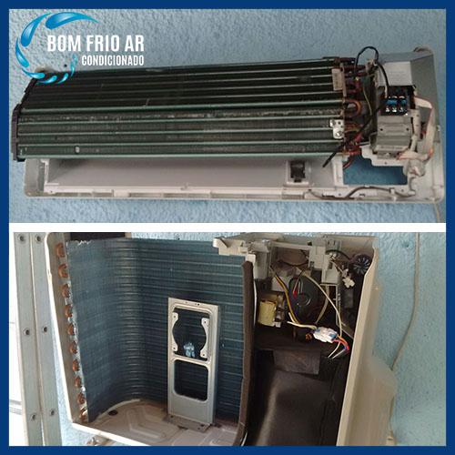 Manutenção corretiva de ar condicionado split