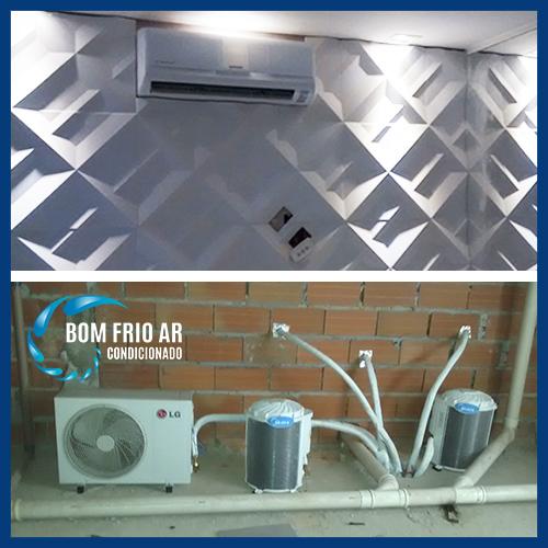 instalação residencial de ar condicionado